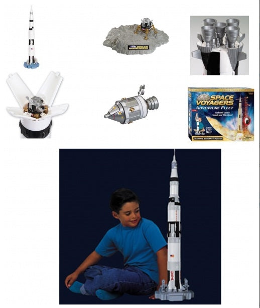 Ultimate Saturn V Rocket Set
