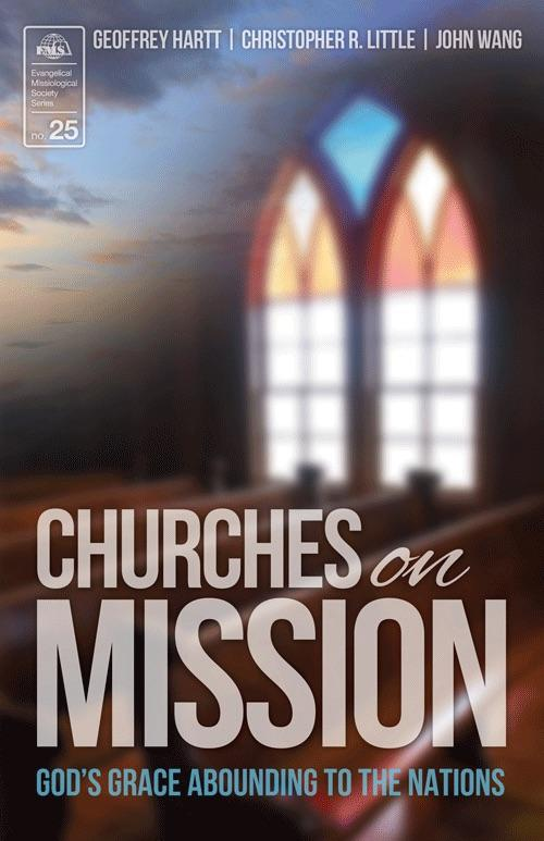 "Cover of the book ""Churches on Mission (EMS-25): God's Grace Abounding to the Nations"" at MissionBooks.org"