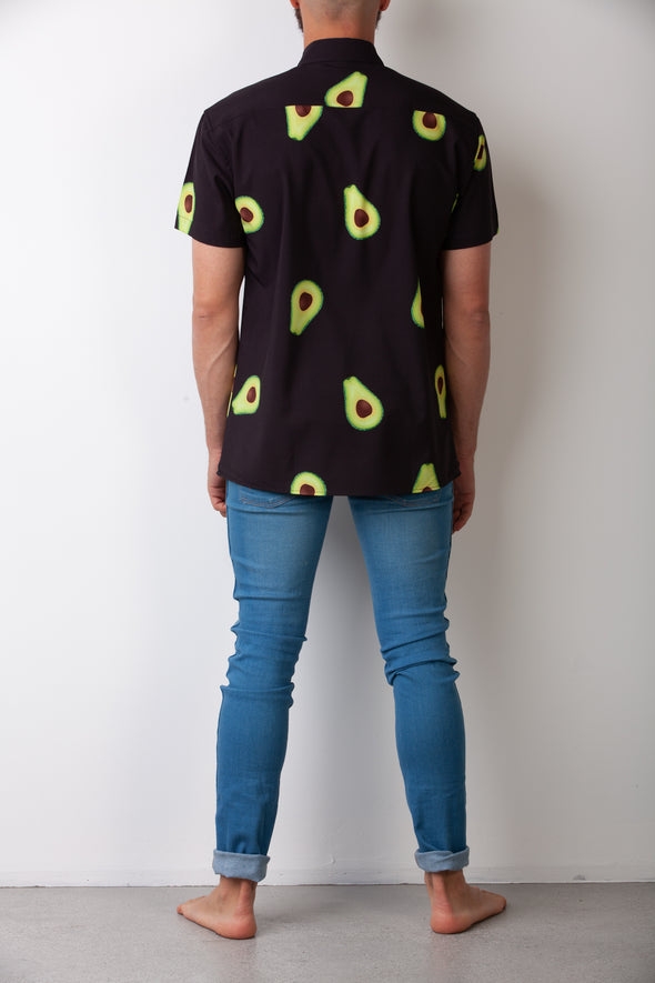 Black Avocado Breakfast Shirt