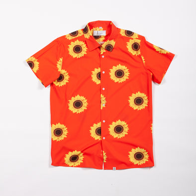 Orange Sunflower Breakfast Shirt