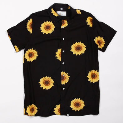 Black Sunflower Breakfast Shirt