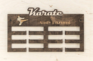 Wall Medal Hanger - Sports Medal Hanger - Wall Medal Display - Wall Medal Holder - Wall Medal Rack - Karate - Karate Gifts - Sports Decor