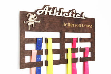 Personalized Atletics Medal hanger Medal display Custom medal holder