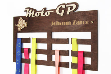Motor GP Medal hangers Personalized medal hanger Meday display Motorcycle gifts