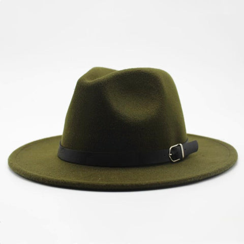 Spark Sisters Fedora with belt Classic Vintage affordable fashion