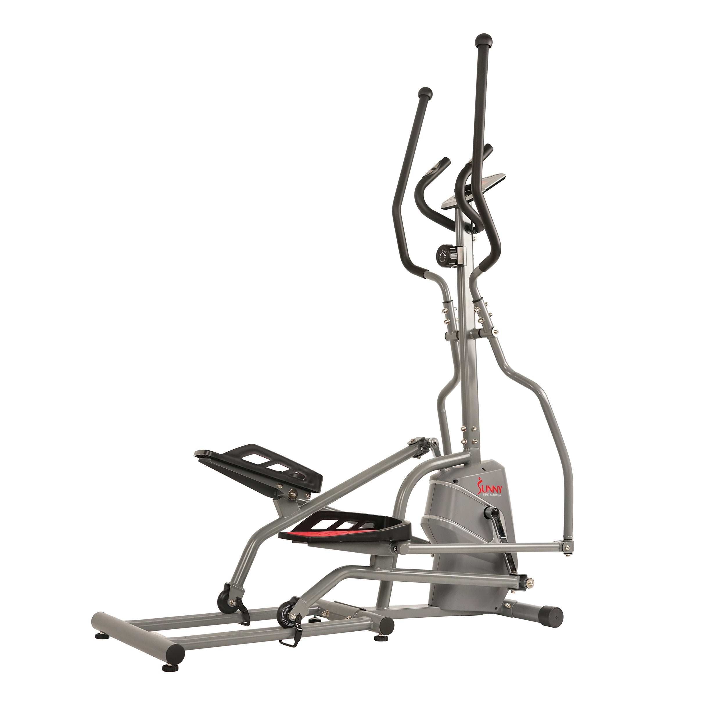 sunny-health-fitness-ellipticals-magnetic-elliptical-trainer-elliptical-machine-tablet-holder-LCD-monitor-and-heart-rate-monitor-SF-E3810-stride
