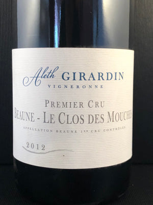 Aleth Girardin Beaune Mouches, 1er Burgundy Red 2011