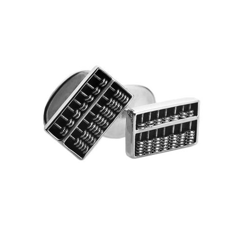 Chinese Abacus Cufflinks