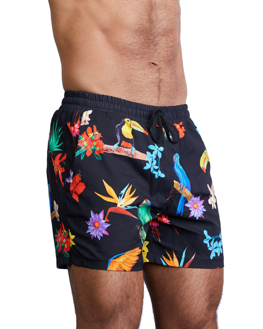 Tropical Swim Short-Swim Short-Skull & Bones, Inc.
