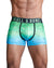 Green Ombre Foil Logo Trunk
