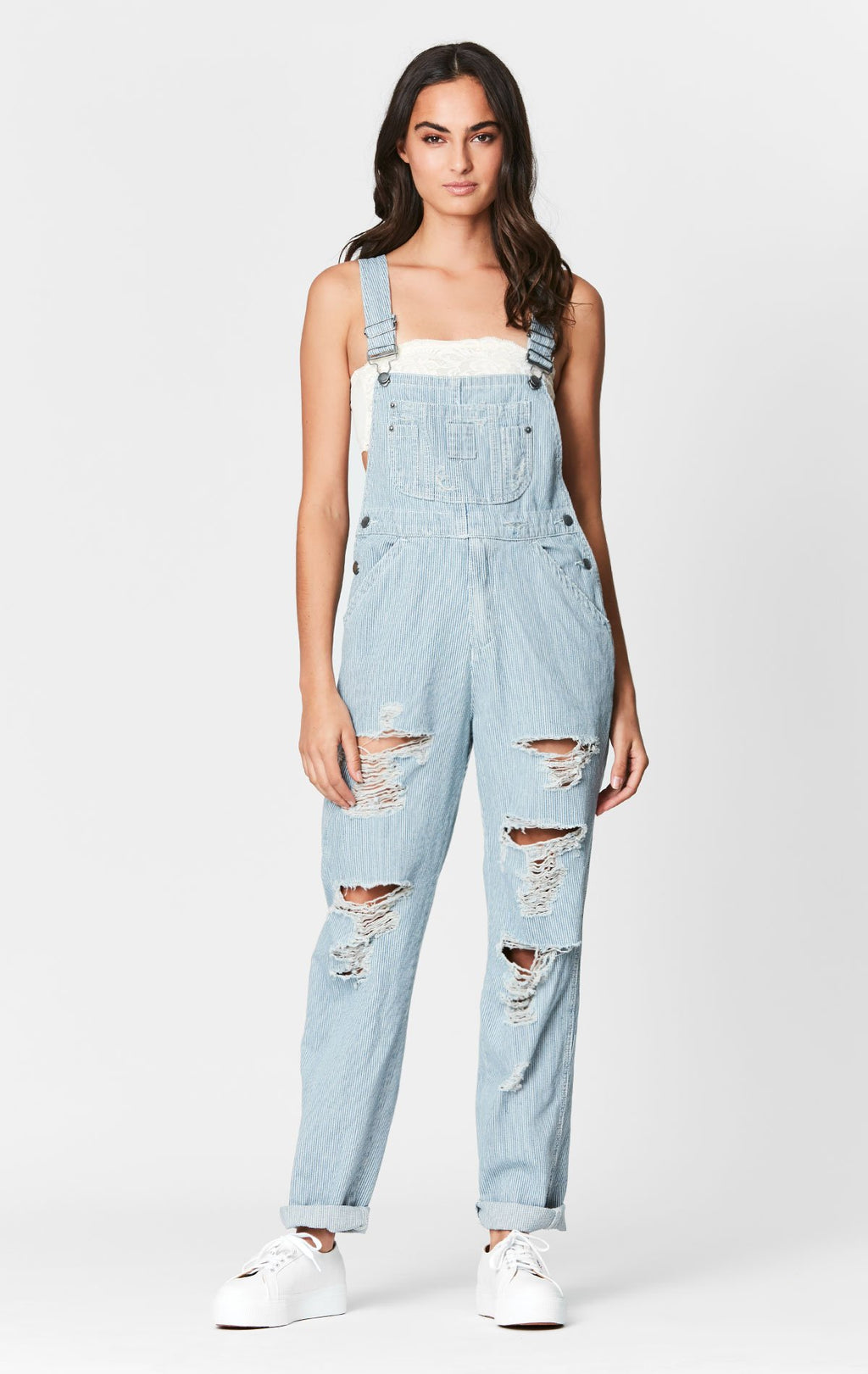 RAILROAD STRIPE OVERALL