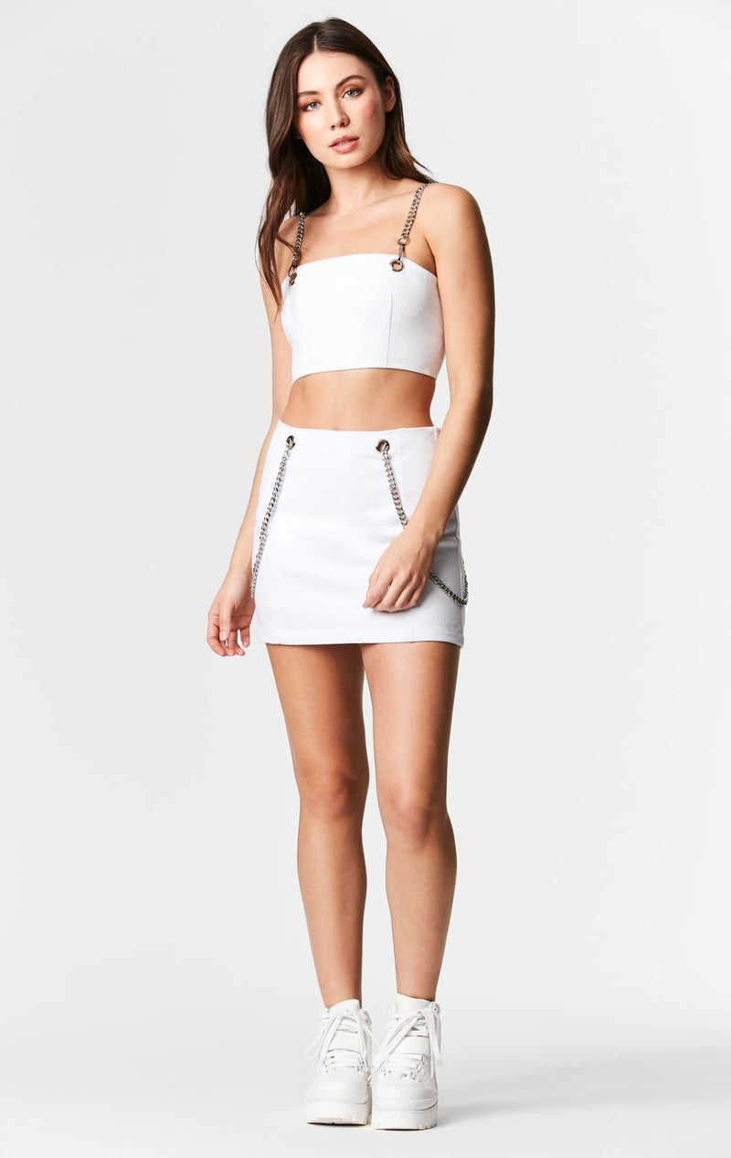 Carmar Denim: CHAIN STRAP BANDEAU - IMPORT SKIRTS