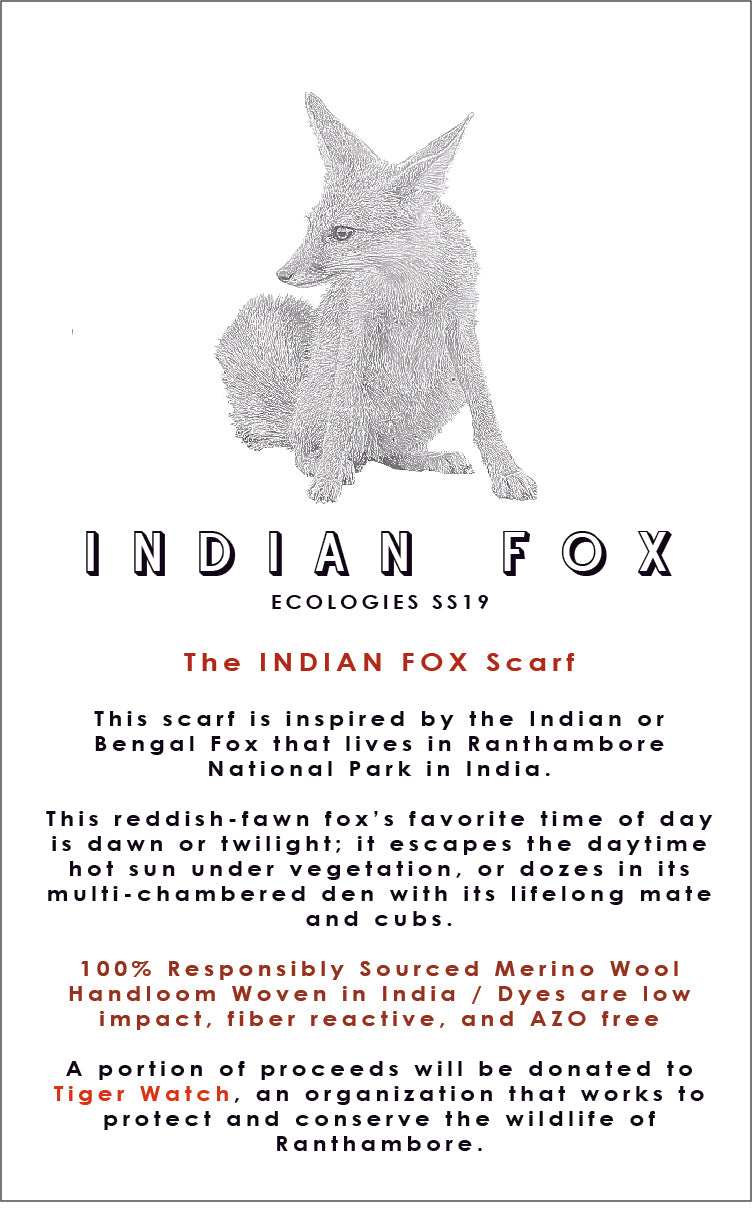 INDIAN FOX Scarf