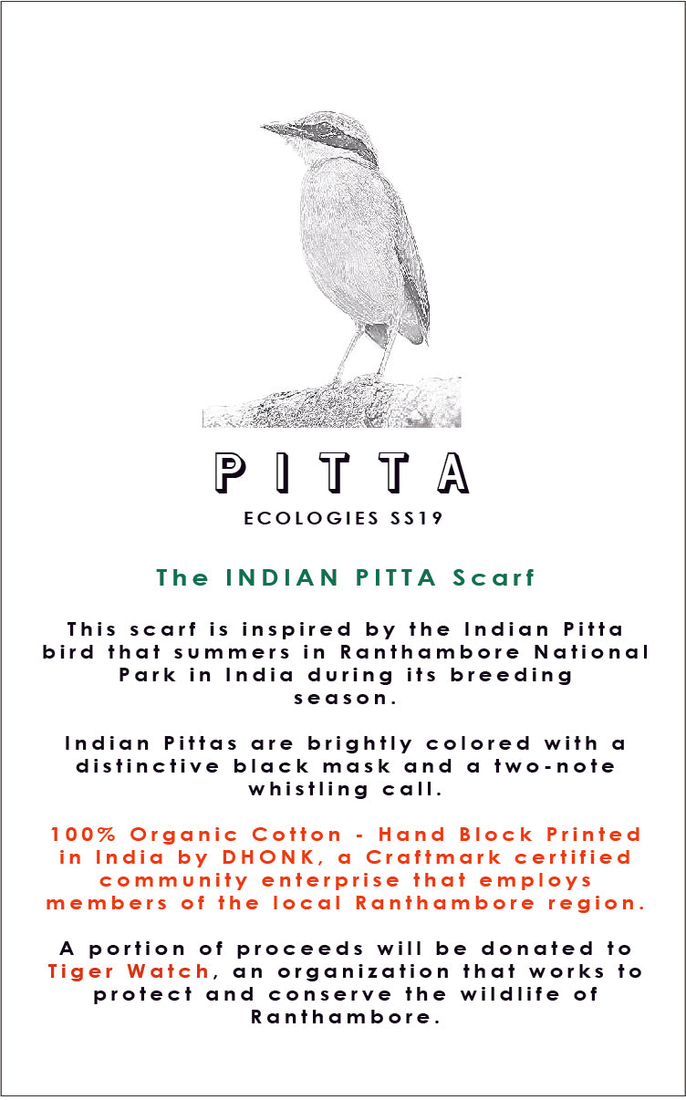 INDIAN PITTA Scarf