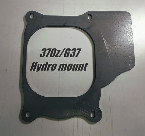 G37|370z Hydro Mount Bracket Kit - Street Weapons  - Locally engineered and crafted aftermarket items for Race, drift, and street cars apparel accessories supplies electronics
