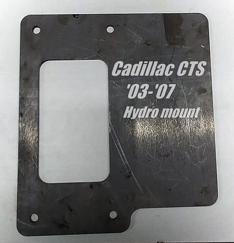 CTS '03 - '07 Hydro Mount Bracket Kit - Street Weapons  - Locally engineered and crafted aftermarket items for Race, drift, and street cars apparel accessories supplies electronics