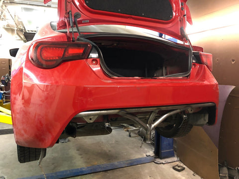 FRS|BRZ Rear Bash Bar - Street Weapons  - Locally engineered and crafted aftermarket items for Race, drift, and street cars apparel accessories supplies electronics