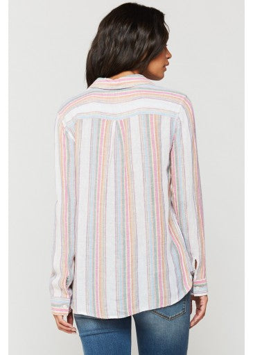 Bennett Rainbow Stripe Shirt