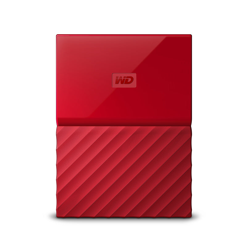 "WD MY PASSPORT 2.5"" 2TB Rojo"