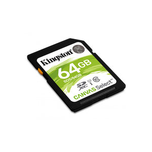 KINGSTON CANVAS Select CL4 SDXC 64GB