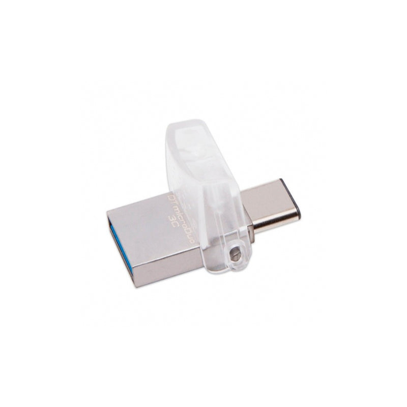 KINGSTON DT MICRO DUO 3C 32GB USB3.1 Plata