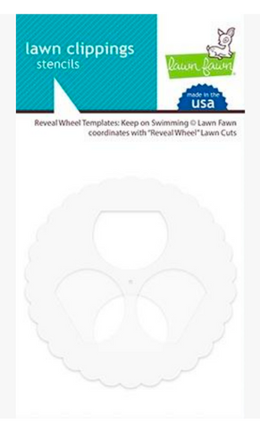 Reveal Wheel Templates - Keep on Swimming, Lawn Fawn