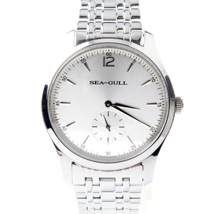 Seagull Ultra Thin 9MM Exhibition Back Mechanical Business Watch D816.448 - seagull-watches