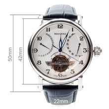 Load image into Gallery viewer, Seagull Flywheel Retrograde Guilloche Automatic Watch 819.317 - seagull-watches