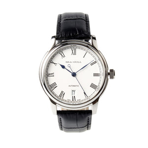 Seagull Roman Numerals Blue Hands Automatic Watch D819.459 - seagull-watches