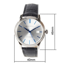 Load image into Gallery viewer, Seagull Blue Hands Silver Dial Automatic Dress Watch D819.616 - seagull-watches
