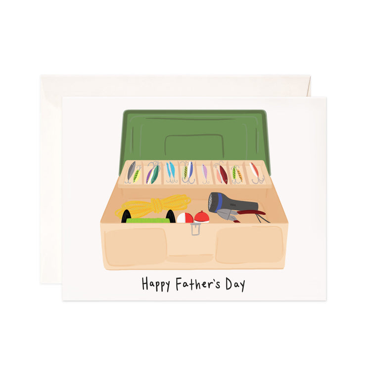 Father's Day Tackle Box - Bloomwolf Studio