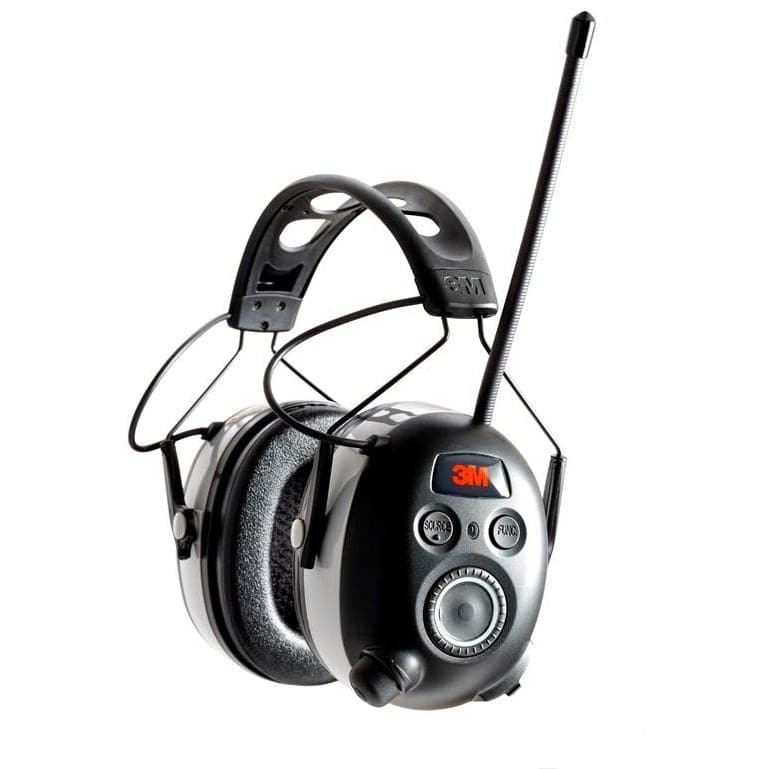 3M WorkTunes™ Wireless Hearing Protector with AM/FM + Bluetooth® (NRR 24)