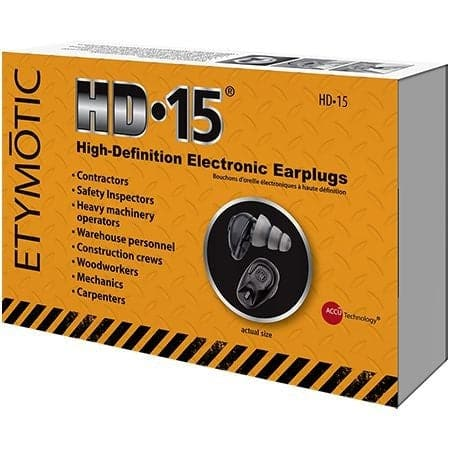 HD15 High Definition Electronic Earplugs for Industry