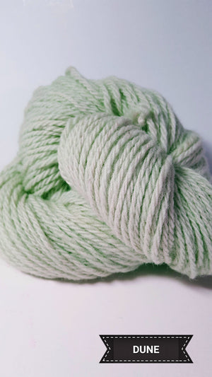 Dune Grass - Hand Dyed Aran/Worsted Yarn for Rug Hooking