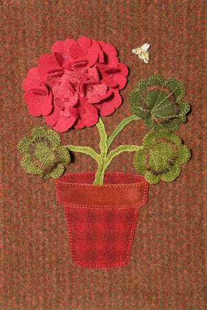 Glory Bee Wool Applique Pattern
