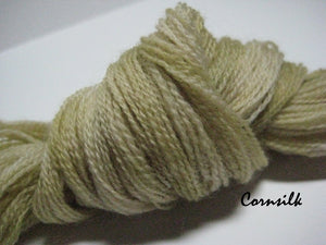 Corn Silk #018 - Wool Thread for Needle Punch and Wool Applique - Red Sand Fibre