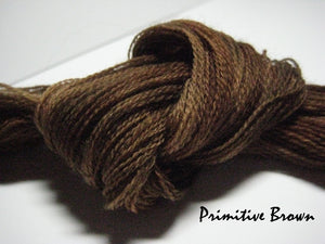 Primitive Brown #035 - Wool Thread for Needle Punch and Wool Applique - Red Sand Fibre