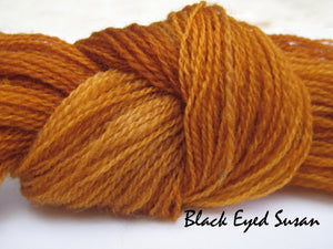 Black Eyed Susan #020 - Wool Thread for Needle Punch and Wool Applique - Red Sand Fibre