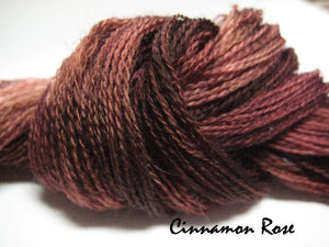 Cinnamon Rose #055 - Wool Thread for Needle Punch and Wool Applique - Red Sand Fibre