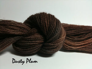 Dusty Plum #039 - Wool Thread for Needle Punch and Wool Applique - Red Sand Fibre
