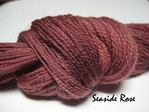 Seaside Roses #021 - Wool Thread for Needle Punch and Wool Applique - Red Sand Fibre