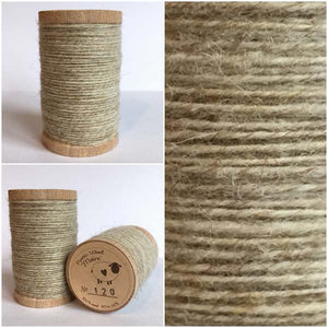 121 Rustic Moire Wool Thread