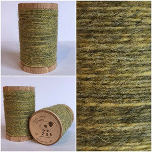 205 Rustic Moire Wool Thread