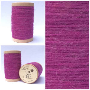 351 Rustic Moire Wool Thread