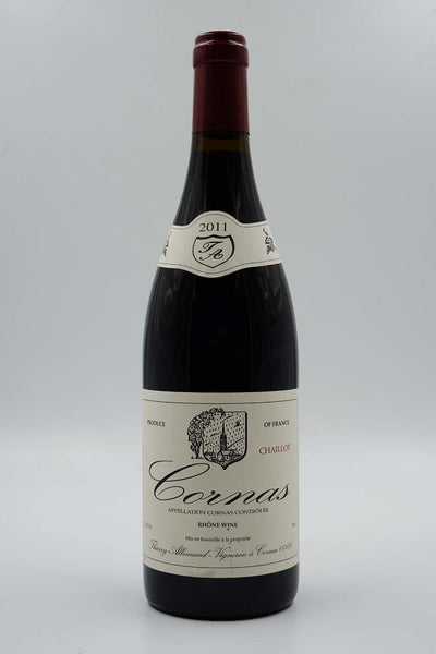 Thierry Allemand, Chaillot, Cornas, Syrah, 2011