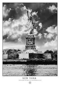 Statue of Liberty, New York (Signed Poster)