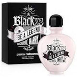 Paco Rabanne Black XS Be a Legend EDT Spray  Debbie Harry 2.7 oz 80ml