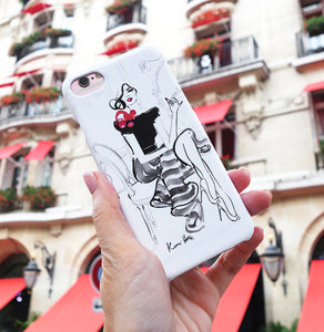 Rouge a Levres Phone Case by Kerrie Hess