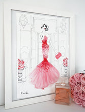 Load image into Gallery viewer, Valentino Rouge by Kerrie Hess