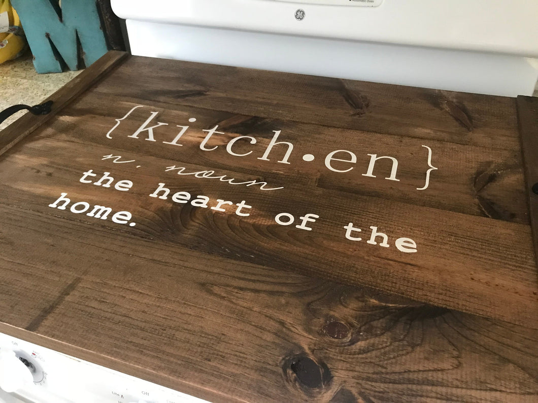 Stove Top Cove - The Kitchen Is The Heart Of The Home